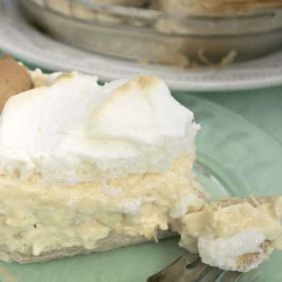 Pineapple Cream Pie {i love} my disorganized life