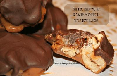 Sugar Free Dark Chocolate Turtles
