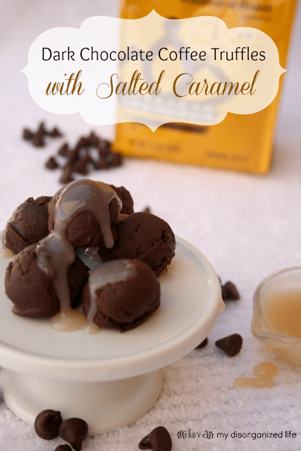 Salted Caramel-Bittersweet Chocolate Truffles Recipe — Dishmaps