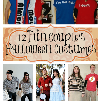12 Fun Couple's Halloween Costume Ideas {i love} my disorganized life