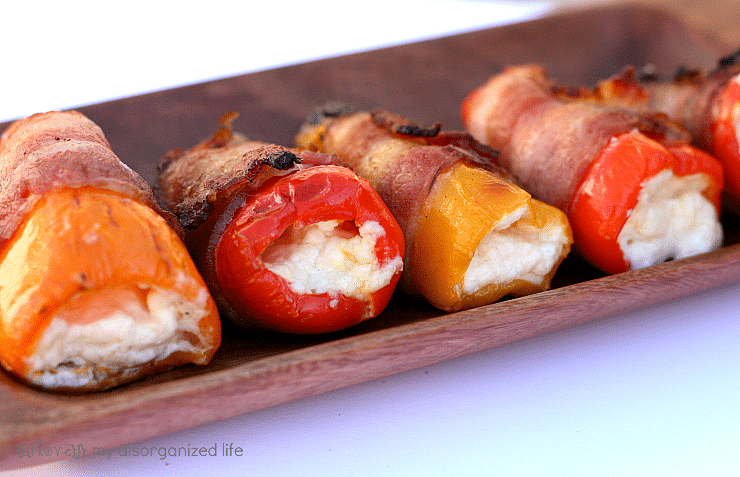 Blue Cheese Pepper Poppers {i love} my disorganized life