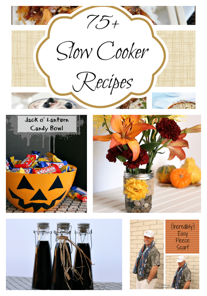 Recipes & Projects Week of Oct 24th-29th - {i love} my disorganized life