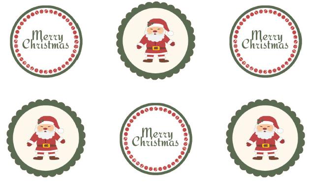 Santa Gift Tag Printables - {i love} my disorganized life