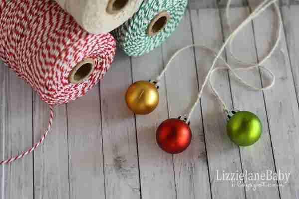 Mini Picture Frame Ornaments