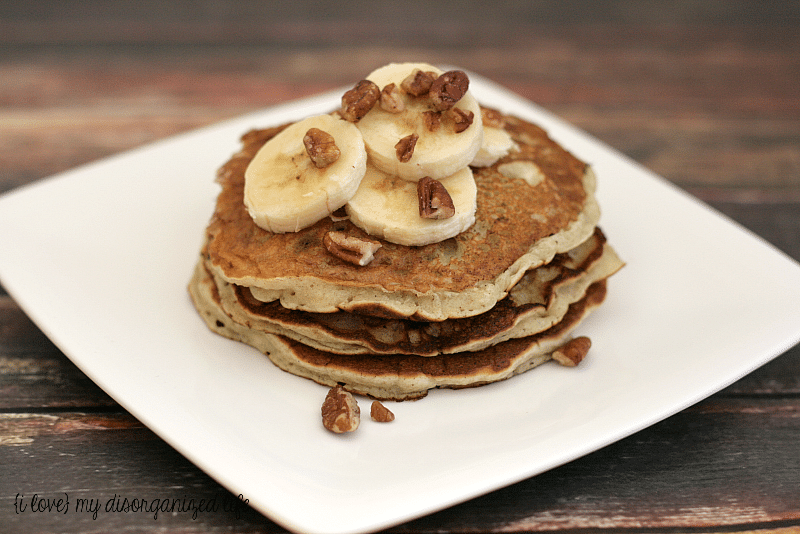 Banana Pancakes - {i love} my disorganized life
