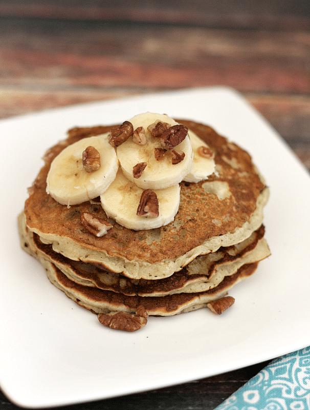 Banana Pancakes - These thin banana pancakes are sweet enough to forgo ...