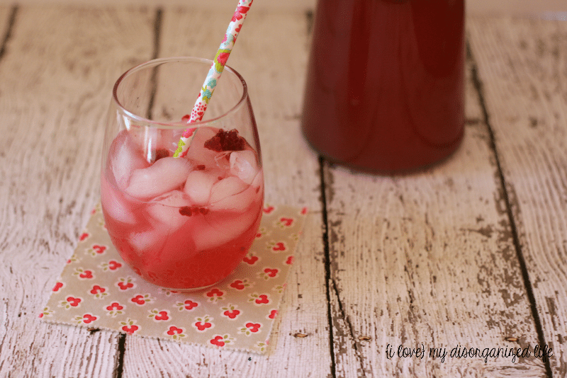 Sparkling Raspberry Lemonade is crisp and refreshing, perfect for enjoying on a sunny day