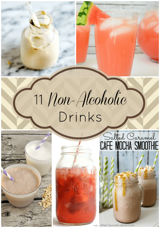 11 Non Alcoholic Drinks from Wednesday Whatsits #108