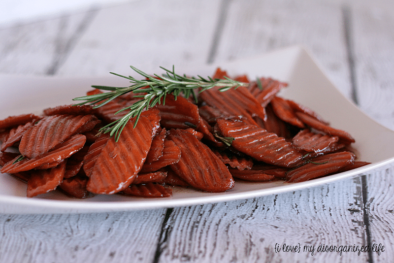 Glazed Carrots with Rosemary for #brunhweek #glazedcarrots #rosemary