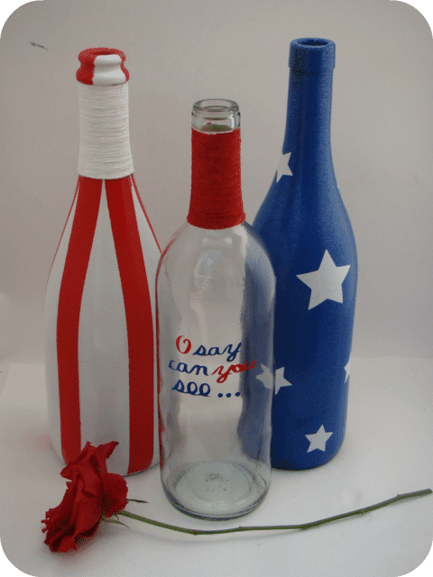 USA wine bottles