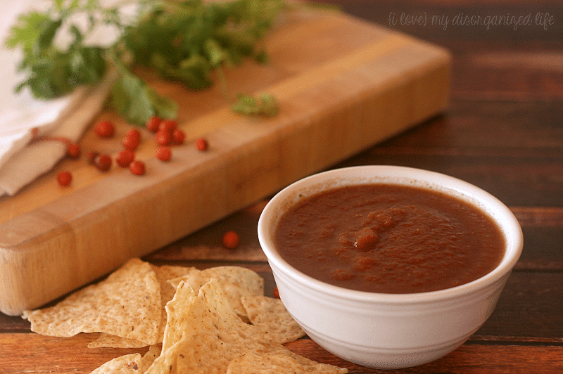 Spicy Homemade Salsa recipe