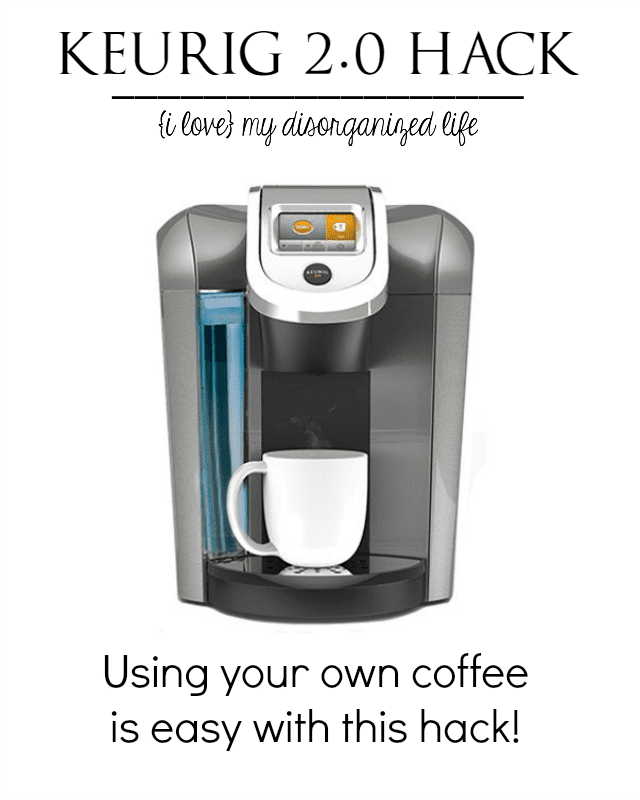 how to use keurig cups without machine