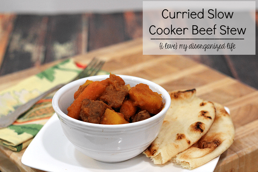 Curried Slow Cooker Beef Stew Recipe