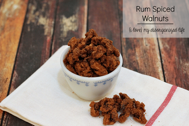 ... , these Rum Spiced Walnuts make a perfect treat or homemade gift