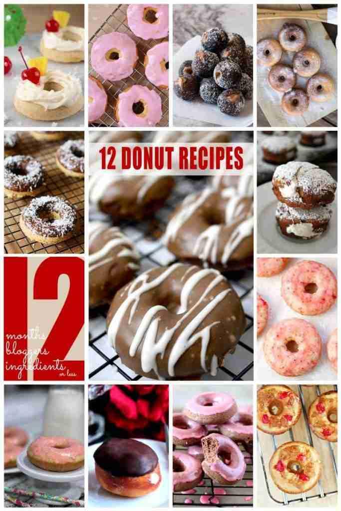 12 donut recipies