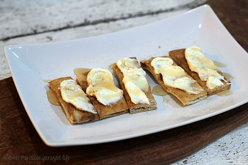 Cinnamon Sugar Mascarpone Bruschetta |{i love} my disorganized life