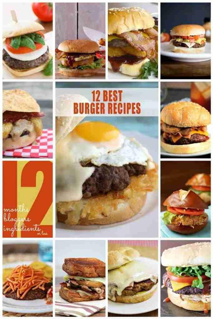 12 Burgers/12 Bloggers | {i love} my disorganized life