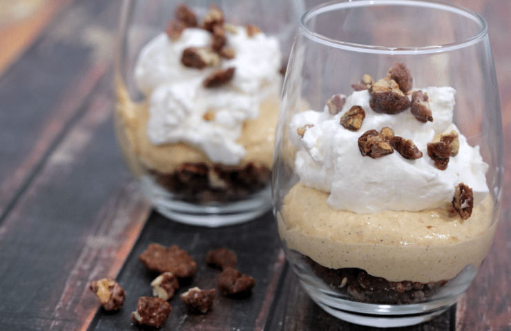 No Bake Pumpkin Cheesecake Parfait #PumpkinWeek