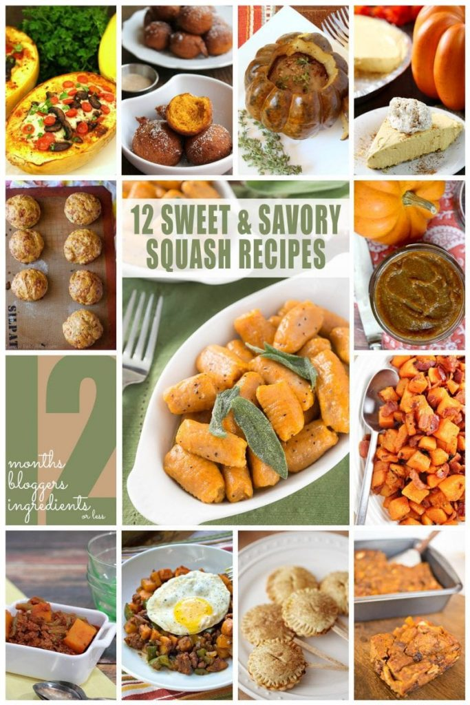 12 Sweet and Savory Squash Recipes