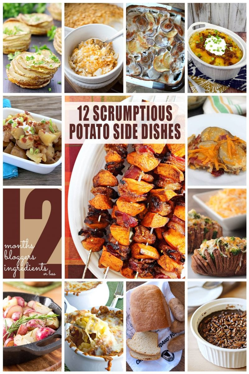 12 Scrumptios Potato Side Dishes |{i love} my disorganized life