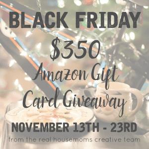$350 Amazon Gift Card Giveaway!