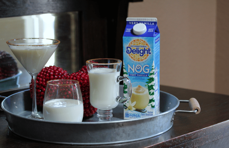 Easy Cinnamon Vanilla Eggnog Cocktail
