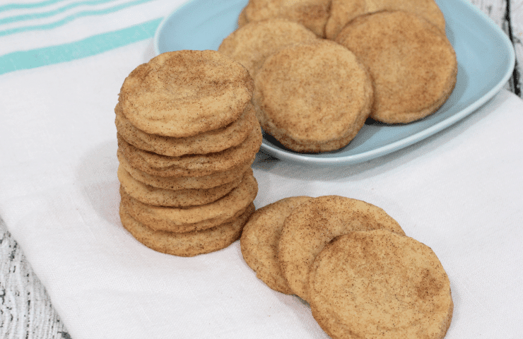 Classic Snickerdoodle Cookies