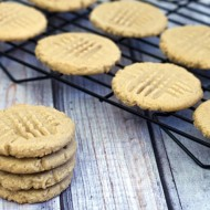 Classic peanut butter cookies are crumbly at the edges, tender in the middle, and hit the spot when a cookie craving strikes!