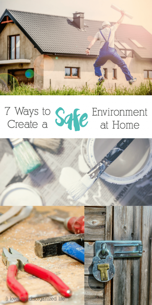 Now that you have bought a new house, what must feature on your to-do list before moving in? You need this Checklist of 7 ways to create a safe environment.