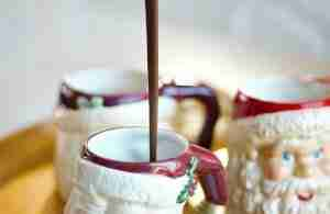 European hot chocolate is a creamy, dark, rich and thick drink, meant to be savored. Best enjoyed on a cold night snuggled up with a good book. Definitely for hard core chocolate lovers.