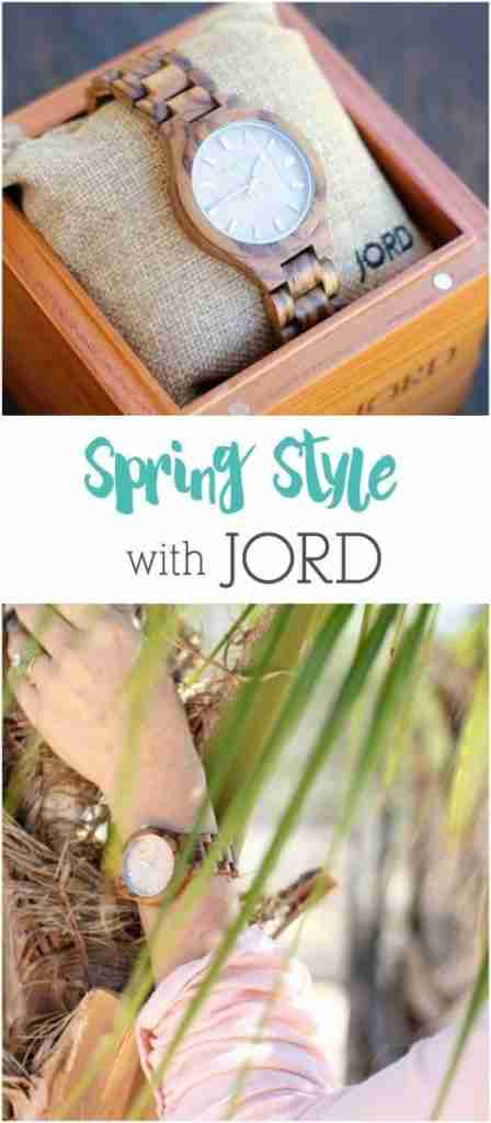 Spring style can be tricky, but, the right accessory from JORD will keep you from second guessing yourself, and your wardrobe.