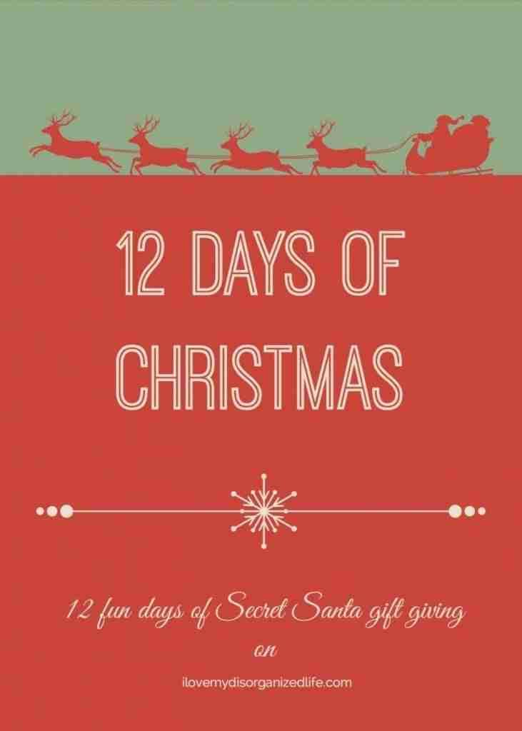 twelve days of christmas has never been so fun 12 fun days of secret santa
