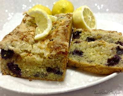 Lemon Poppy Seed Bread/ The Tumbleweed Contessa