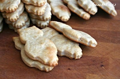 Homemade Cheese Crackers from Heather's French Press