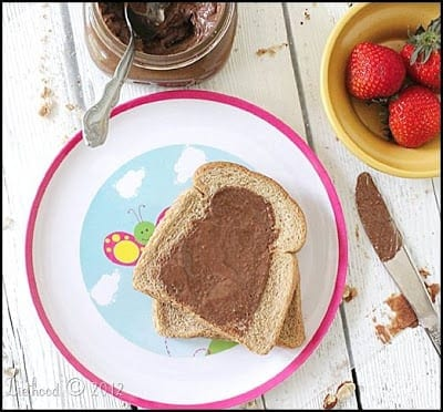 Homemade Nutella from Diethood