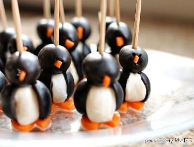 Olive Penguins from Persnickety Plates