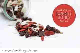 Raisinibly Delicious Snack Mix from FrannyCakes