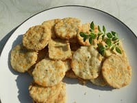 Pepper Jack, Smoked Cheddar and Oregano Crackersfrom Hezzi-D's Cooks and Books