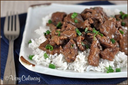 Crock Pot Mongolian Beef - Very Culinary