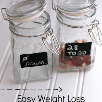 Easy Weight Loss Tracker {i love} my disorganized life #weightloss