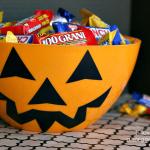 Jack o' Lantern Candy Bowl