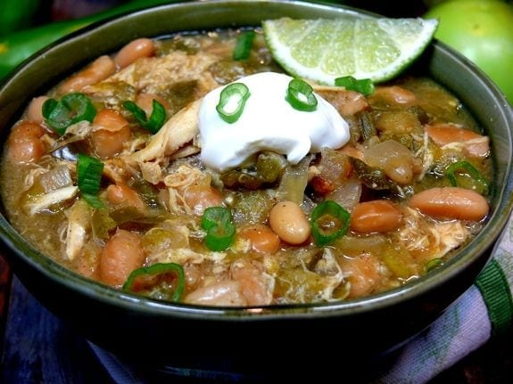 Slow Cooker Green Chili