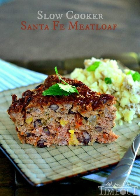 Slow Cooker Sante Fe Meatloaf