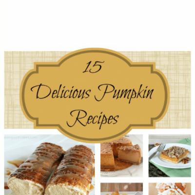15 Delicious Pumpkin Recipes