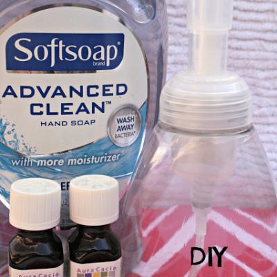 DIY Scented Foaming Hand Soap- {i love} my disorganized life