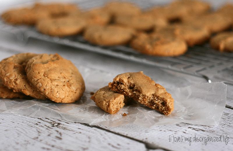 Peanut Butter Oatmeal Cookies {i love} my disorganized life