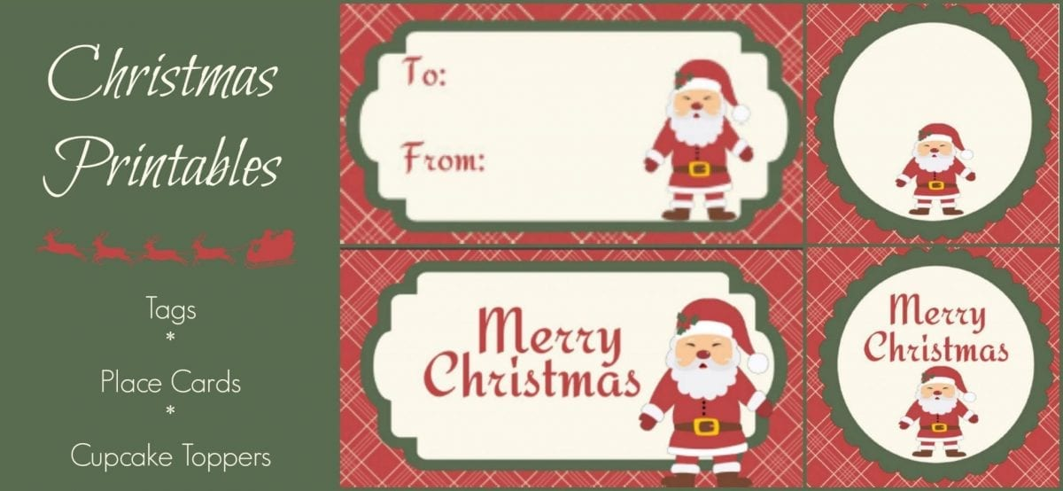 christmas gift cards to print