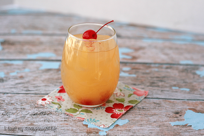 Agua Loca - A fruity cocktail that's perfect to put you in a tropical state of mind and just 2 ingredients!
