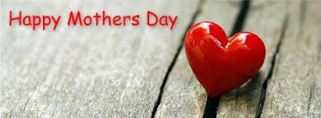 Happy Mother's Day red heart