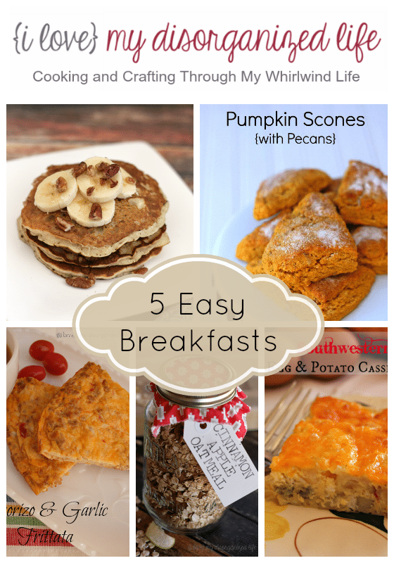 5-Easy-Breakfasts